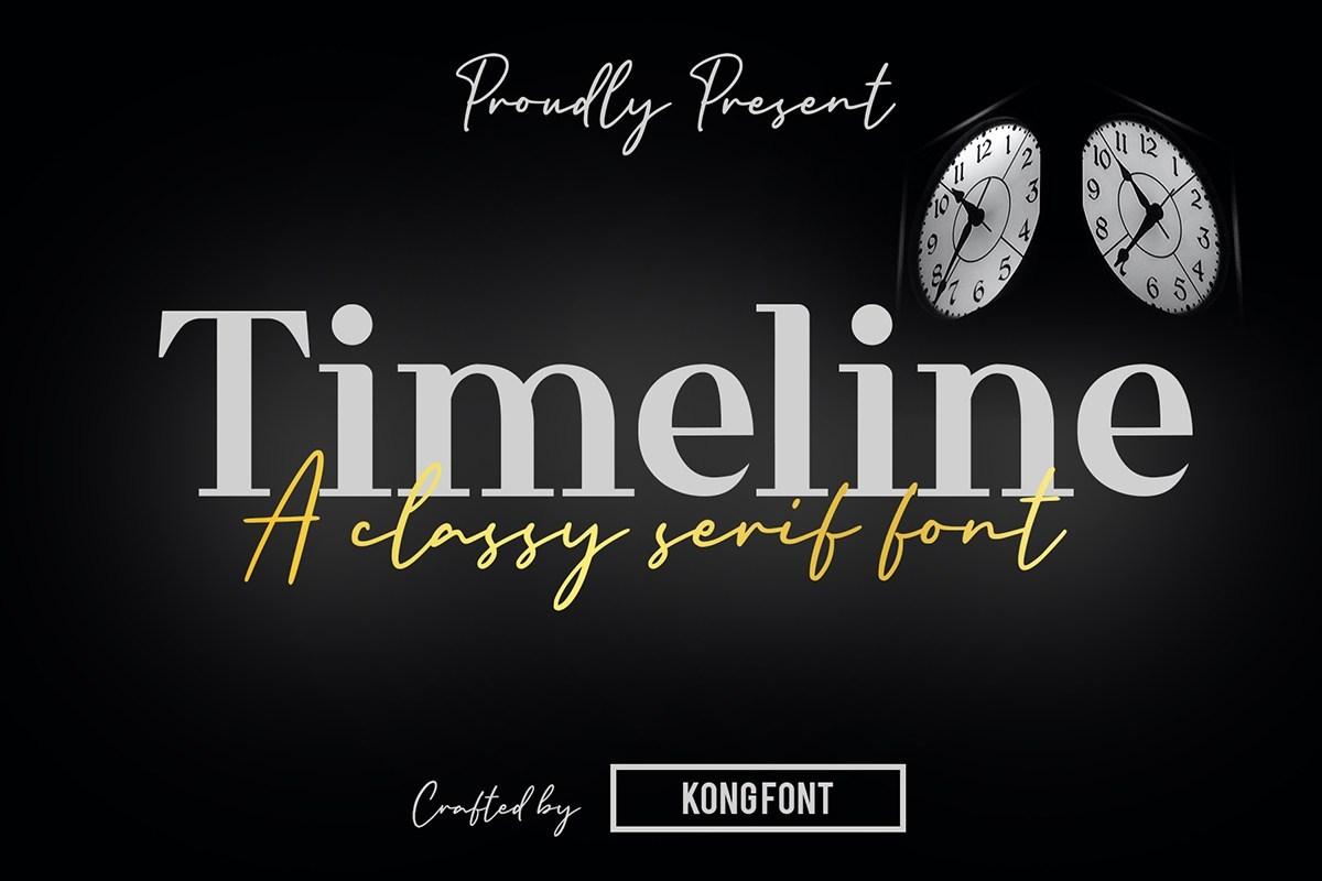 Timeline-Font