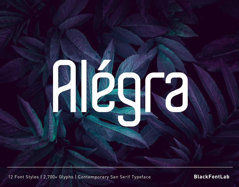 Alegra-Typeface