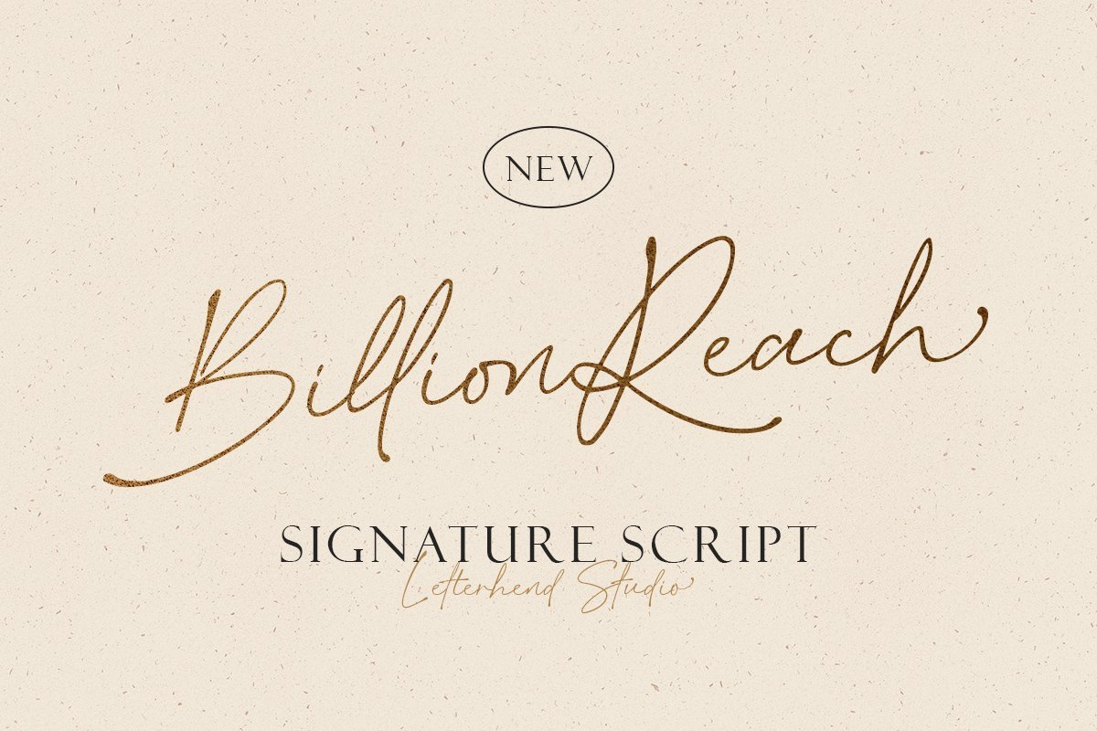 Billion-Reach-Font