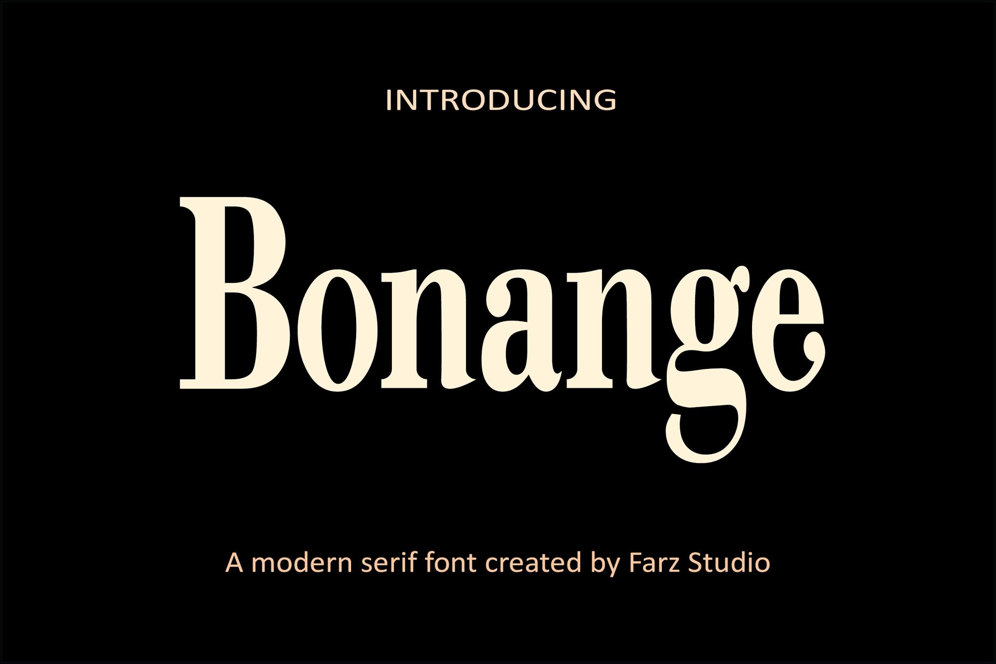Bonange-Font