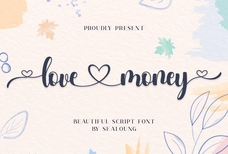 Love-Money-Font