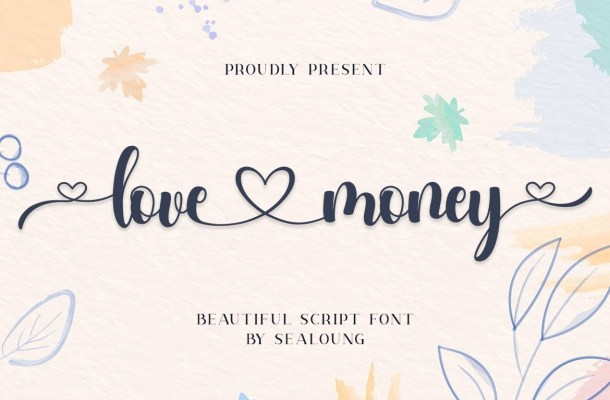 Love Money Font