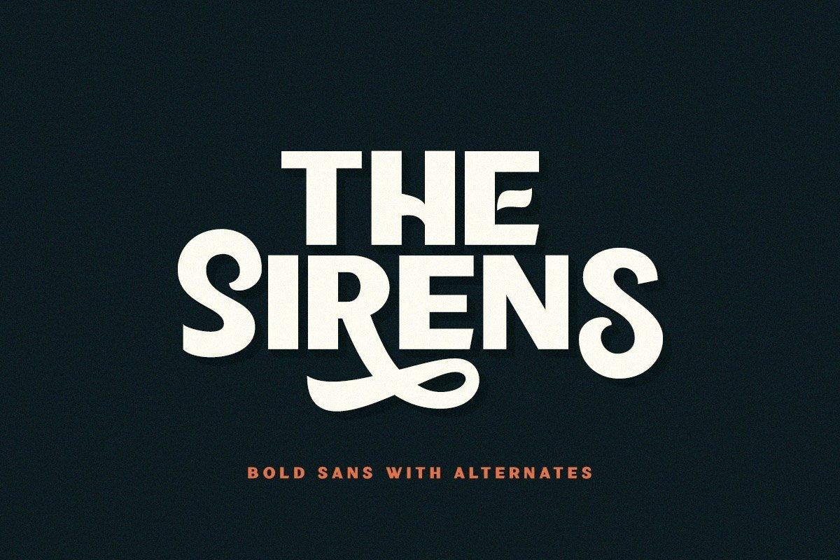 Sirens-Font