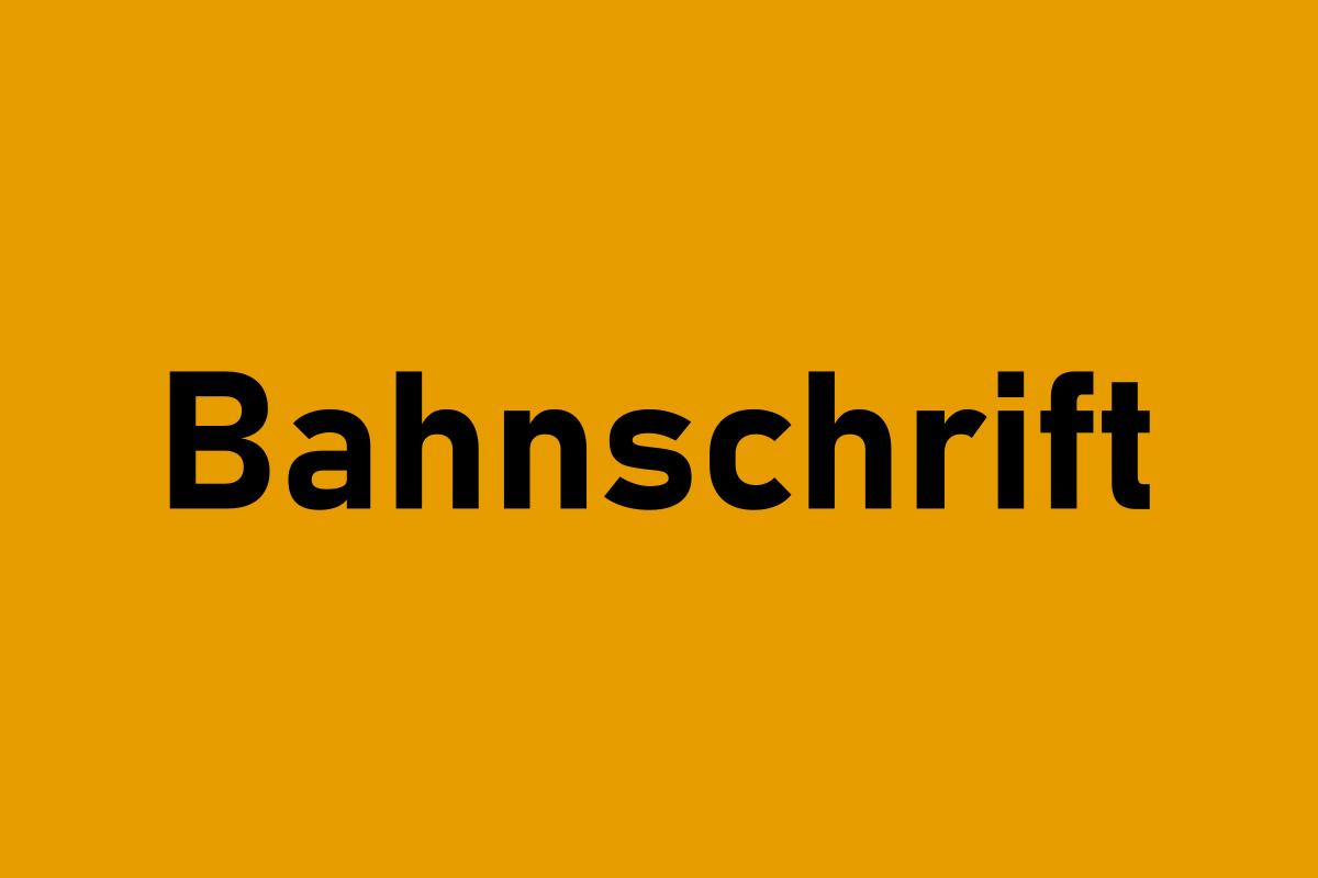 Bahnschrift-Font