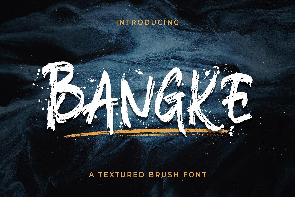 Bangke-Font