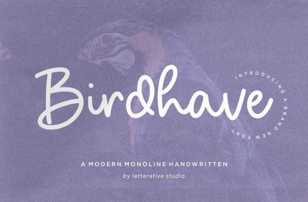 Birdhave Font