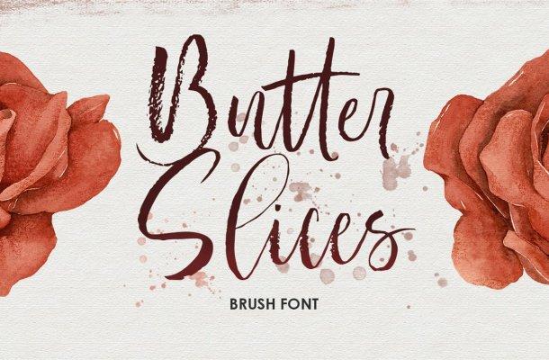 Butter-Slices-Font