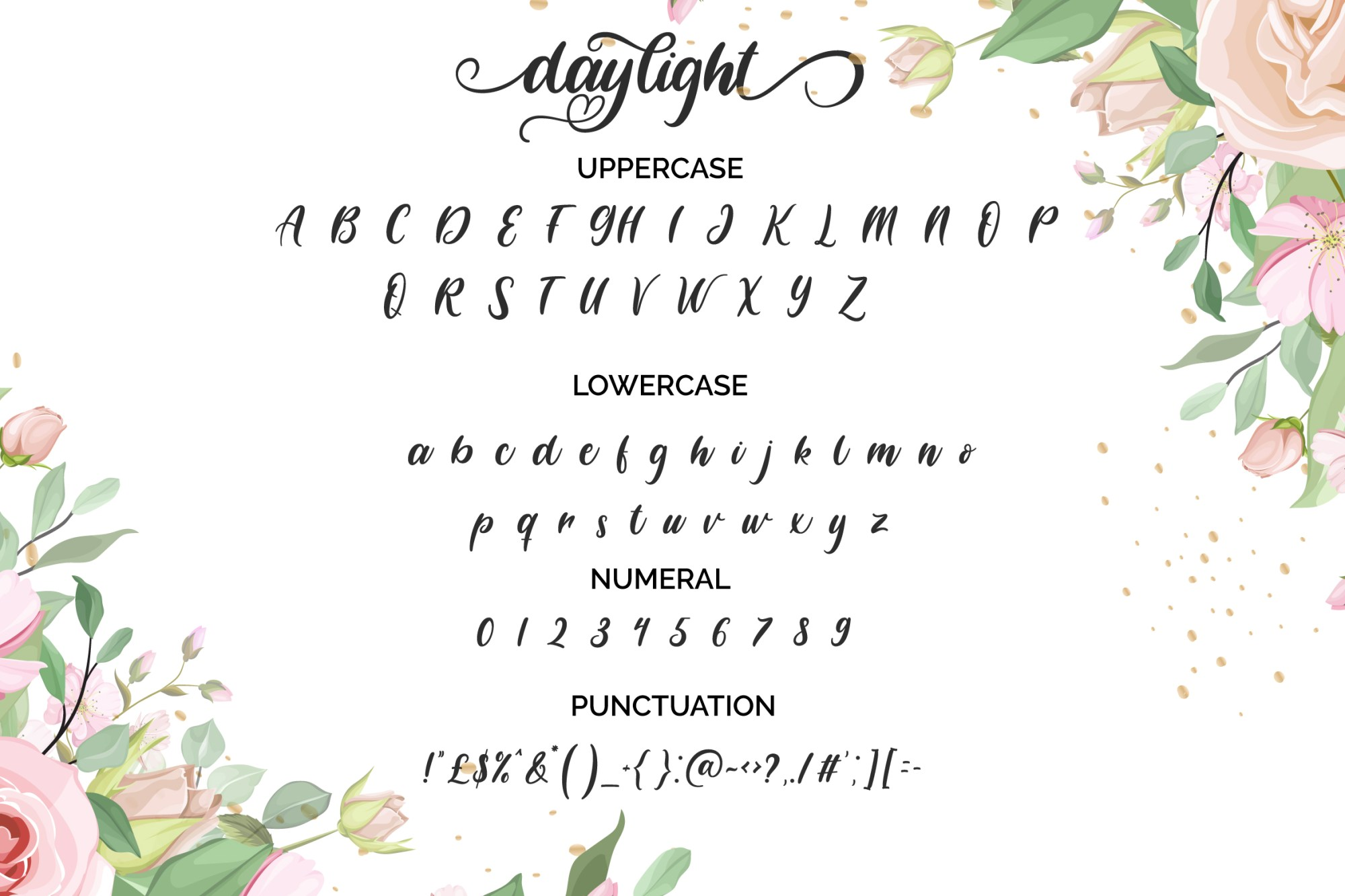 Daylight-Sweet-Font-3