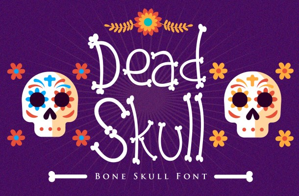 Dead Skull Font