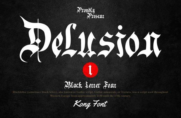 Delusion Font