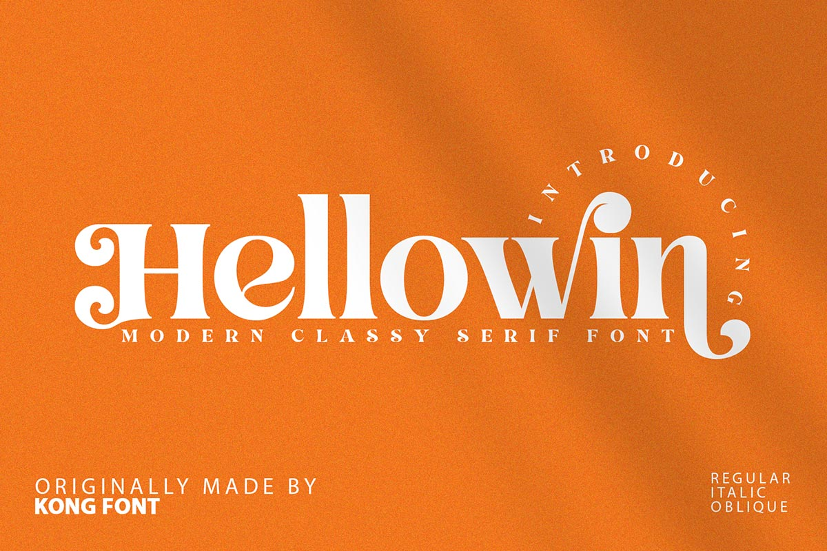 Hellowin-Font