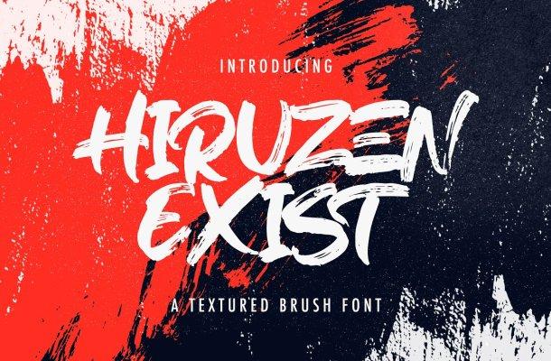 Hiruzen Exists Font