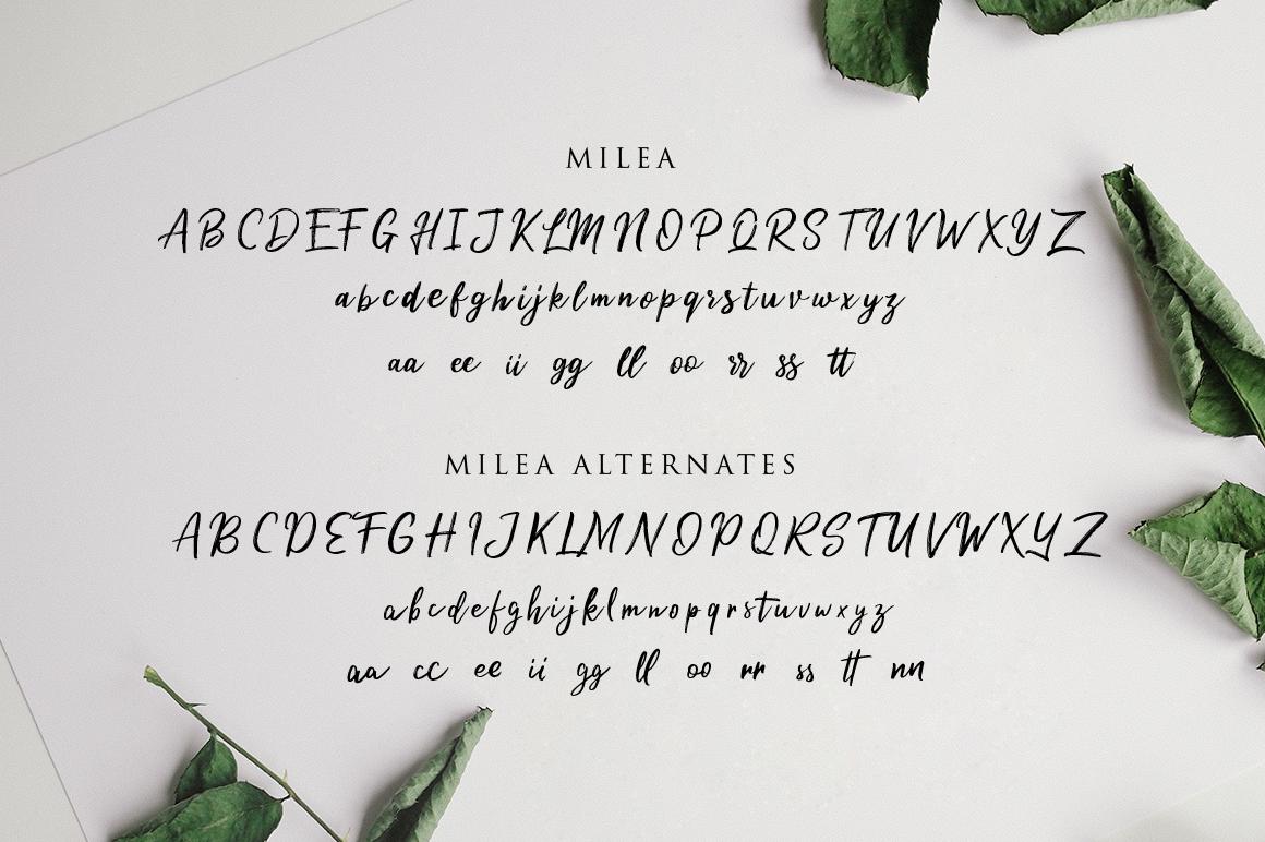 Milea-Font-3