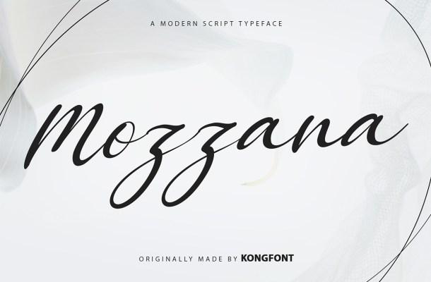 Mozzana Font