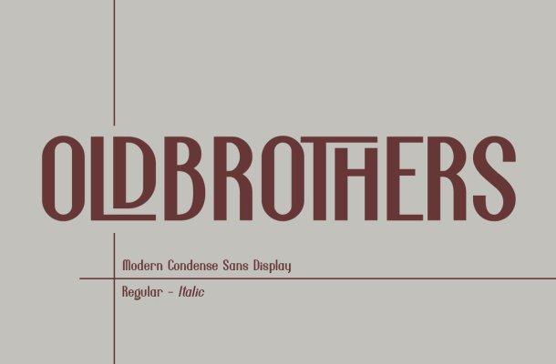 Oldbrothers Font