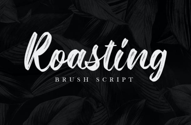 Roasting Font