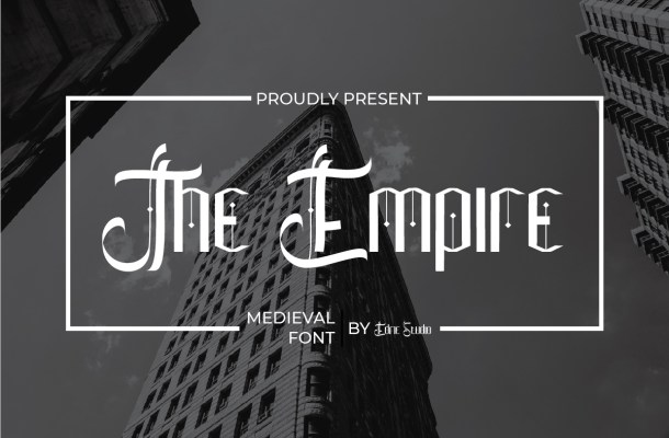 The Empire Font