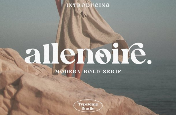 Allenoire Font