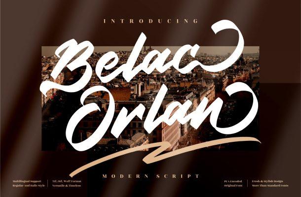 Belac-Orlan-Font