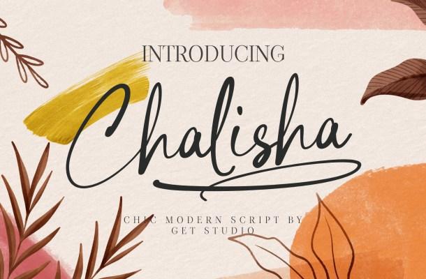 Chalisha Font