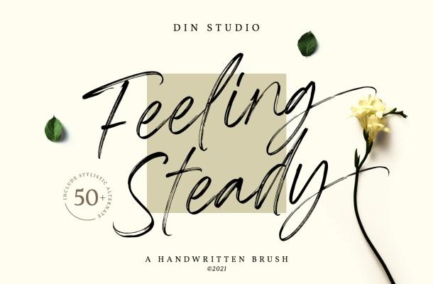 Feeling Steady Font
