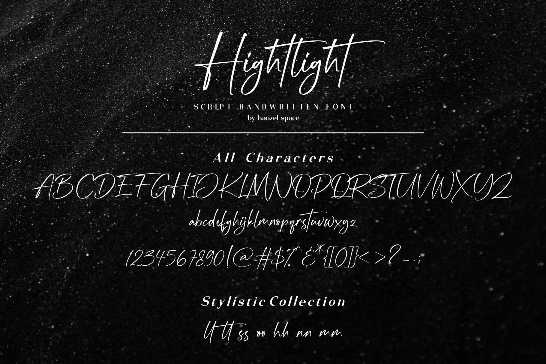 Hightlight-Font-3