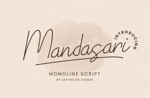 Mandasari Font
