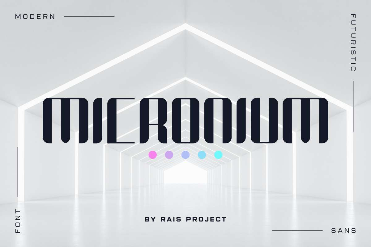 Micronium-Font