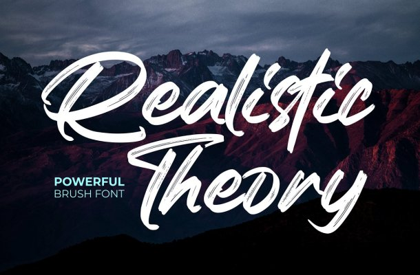 Realistic Theory Font