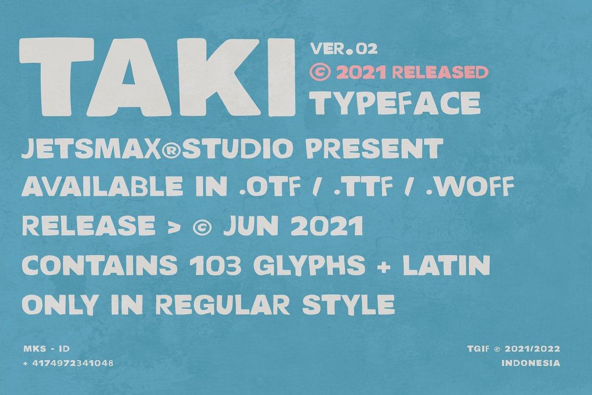 TAKI-Font-2
