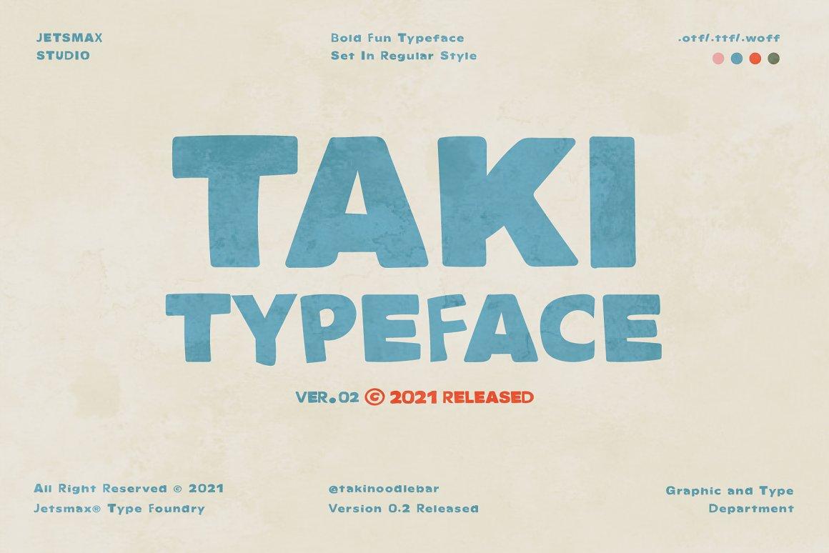 TAKI-Font