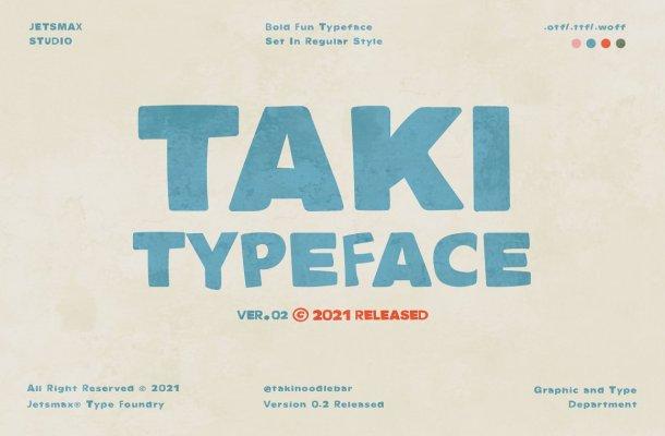 TAKI Typeface