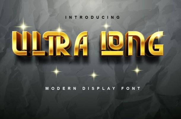 Ultra Long Font