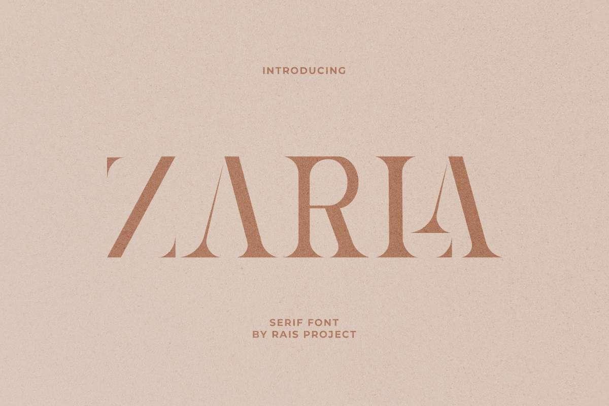 Zarla-Font