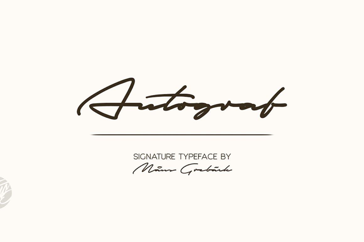 Autograf-Font