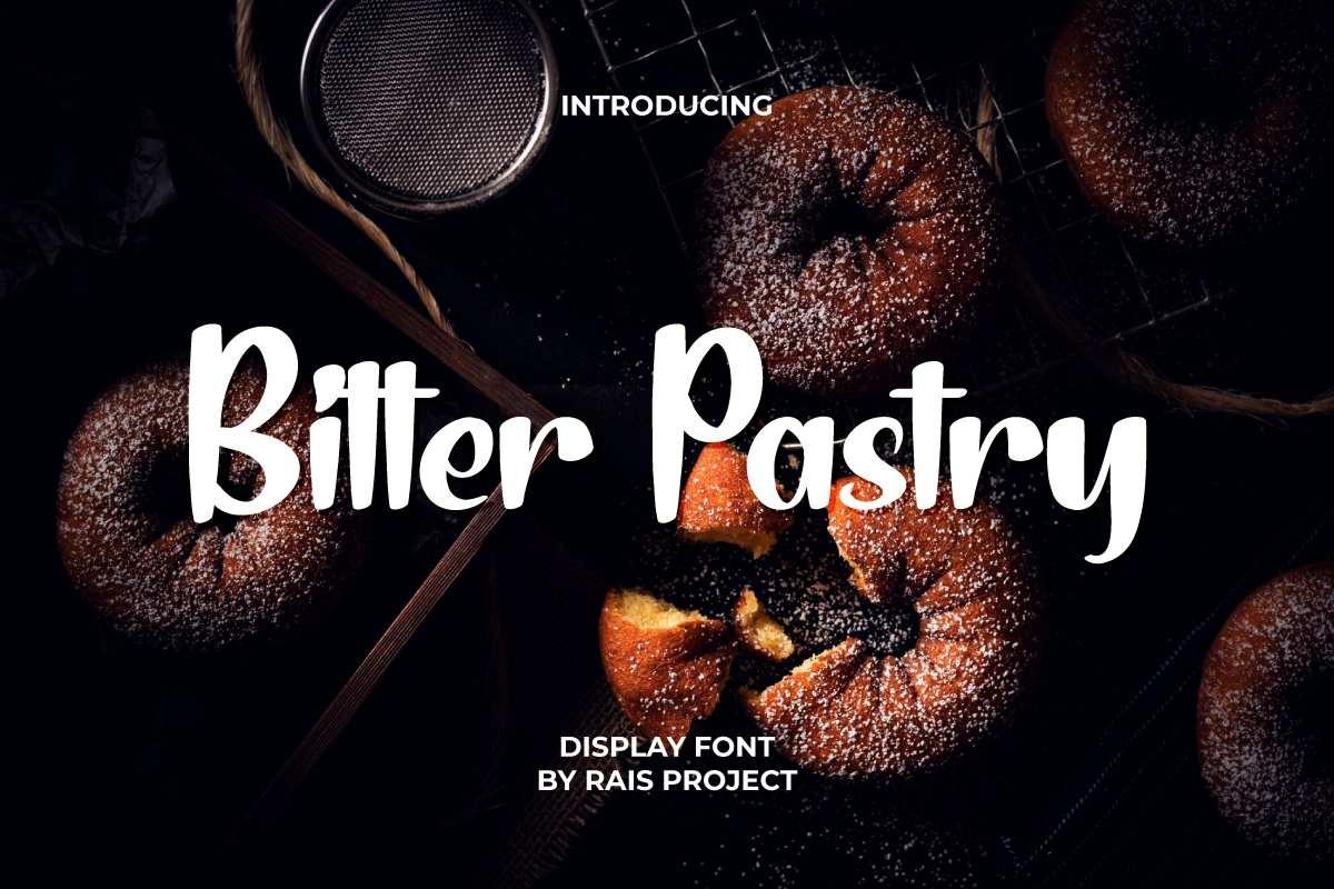 Bitter-Pastry-Font
