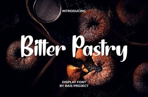 Bitter Pastry Font