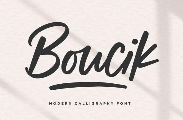 Boucik Font