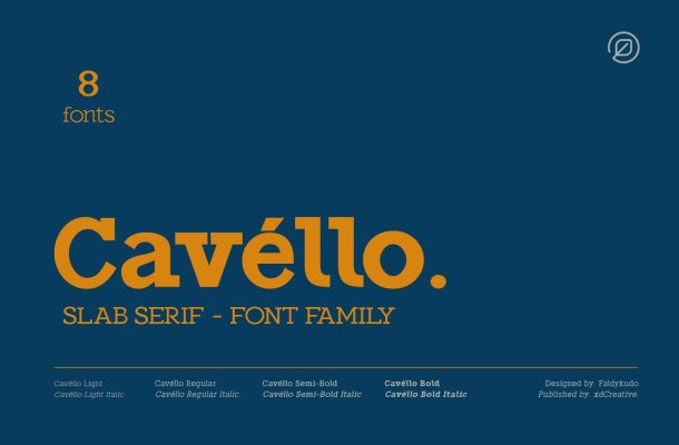 Cavéllo Font Family