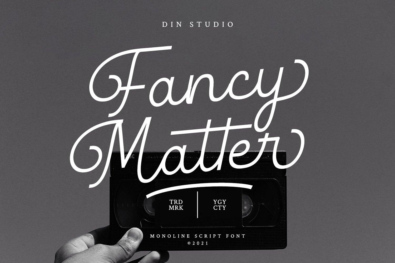 Fancy-Matter-Font