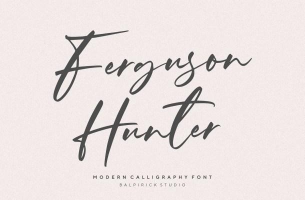 Ferguson Hunter Font