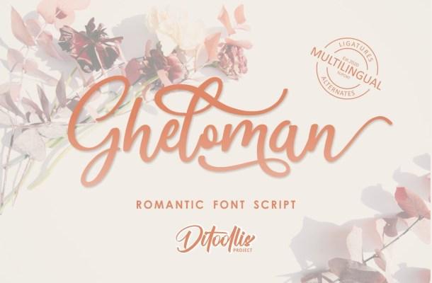 Gheloman Font