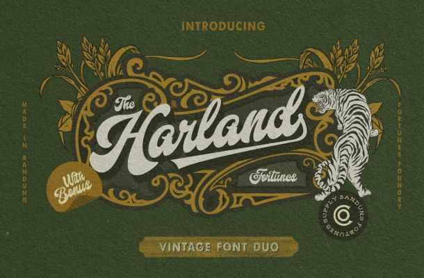 Harland-Font