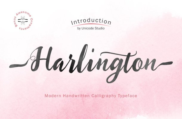 Harlington-Font (1)