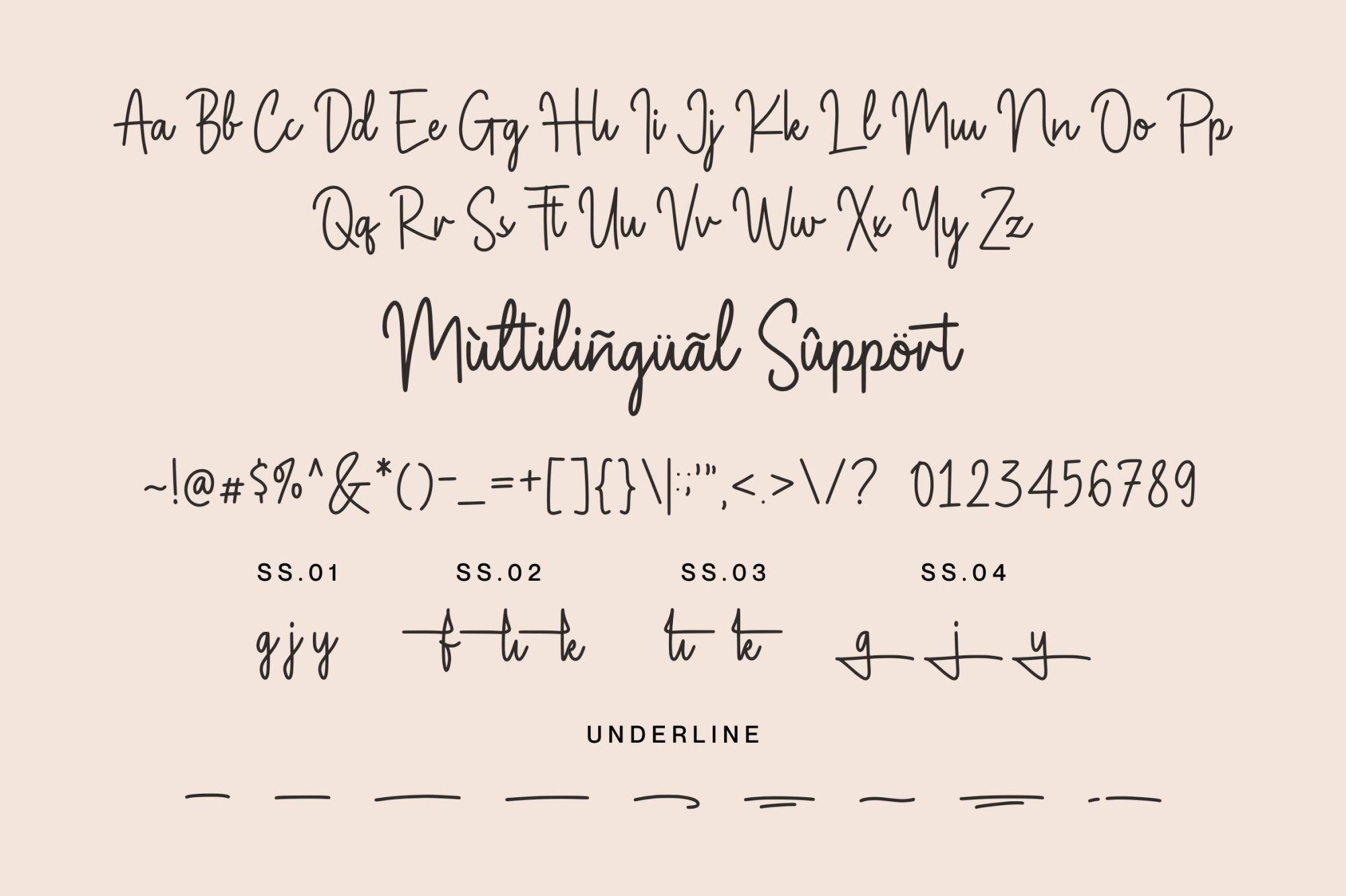 Magnolia-Sparkling-Font-3