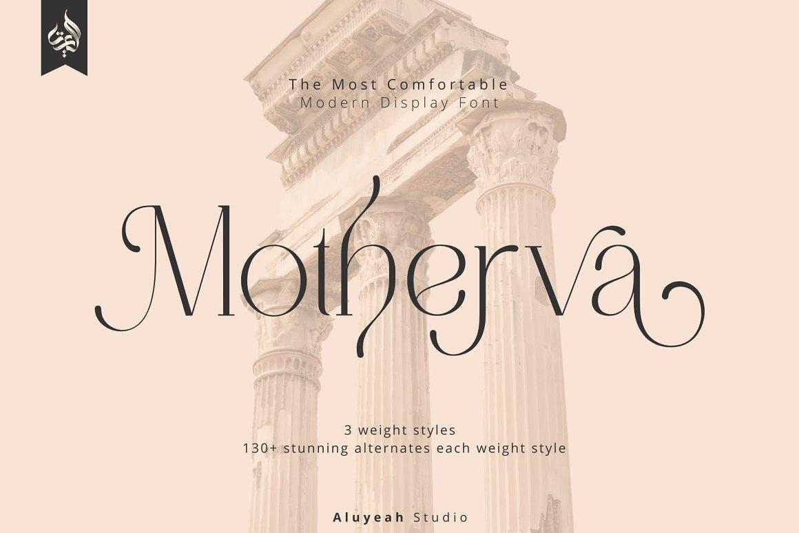 Motherva-Font