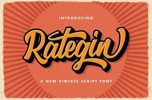 Rategin-Font