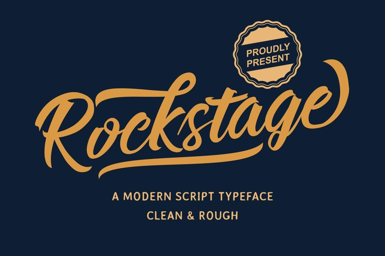 Rockstage-Font