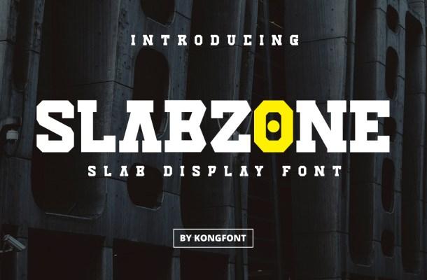 Slabzone Font