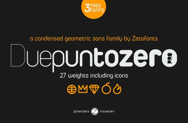 Duepuntozero Font Family